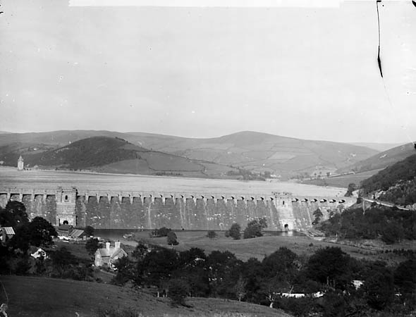 [The dam and lake, Llanwddyn]