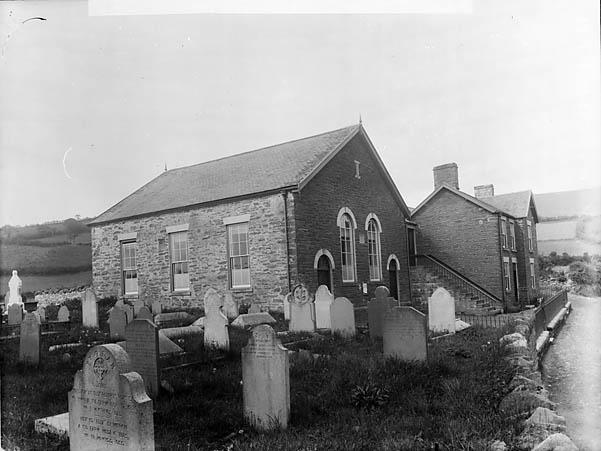 [(Baptist?) Chapel, Llansannan (1897)]