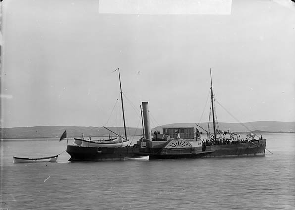 [Surveyor's ship, Aberdyfi]
