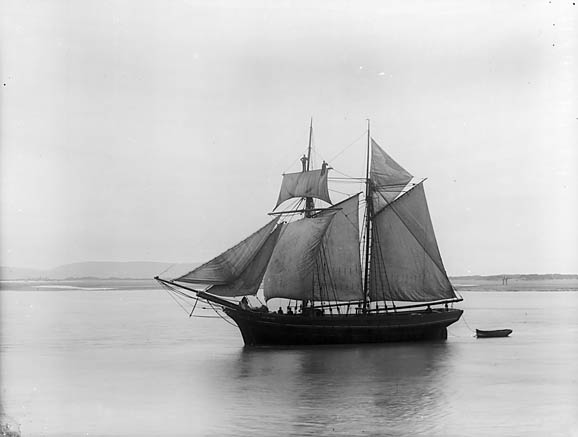 The Volunteer at the Aberdyfi regatta