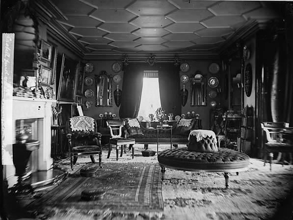 [The drawing room, Castell Deudraeth, Penrhyndeudraeth]