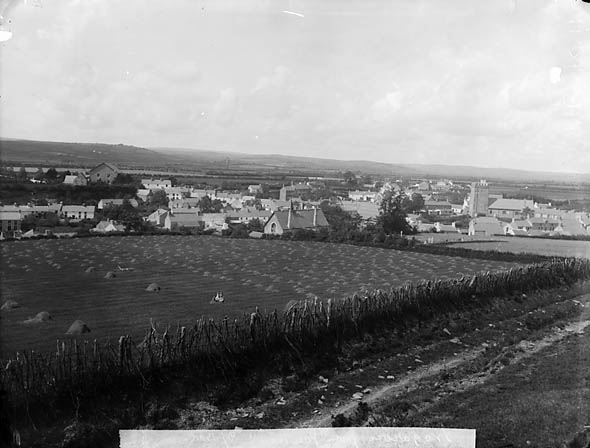 [A view of Tregaron from Pen-pica]