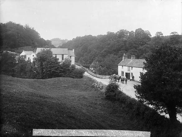 [Inn and chapel, Bontuchel, Y Gyffylliog]