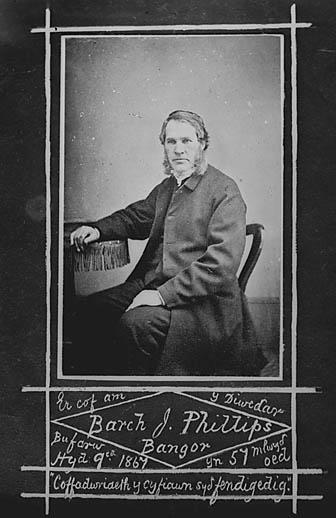 Er cof am y Diweddar Barch J Phillips, Bangor