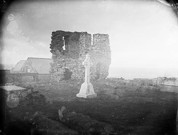 [Abbey ruins on Bardsey]