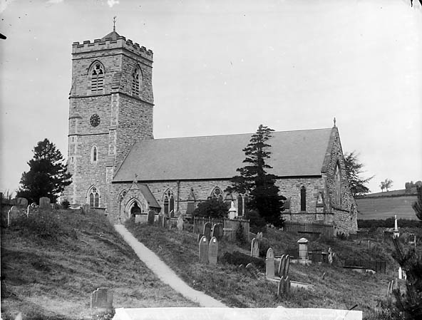 [The church, Llanfair Caereinion]