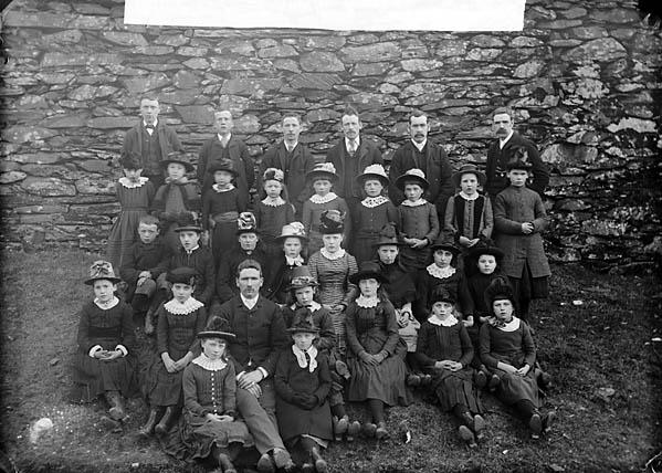 [Nazareth (CM) children's choir, Penrhyndeudraeth (1888)]