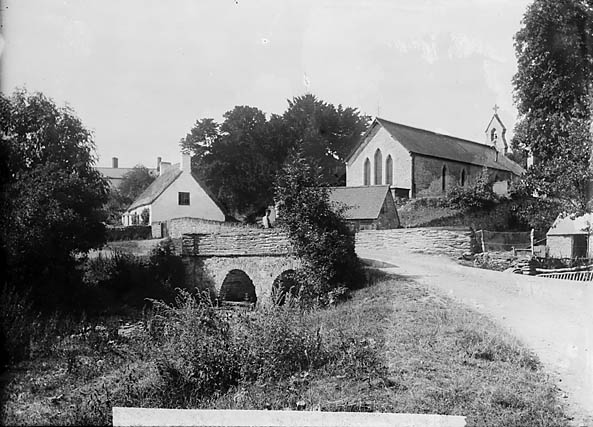 [the church and the bridge, Nantglyn]