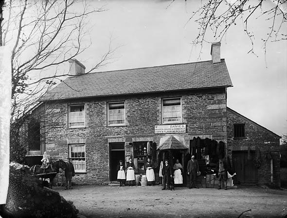 [W. Davies' Store, Llanfair Caereinion]
