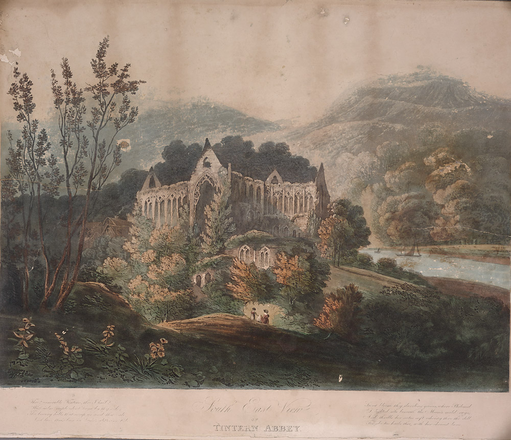 South East View of Tintern Abbey