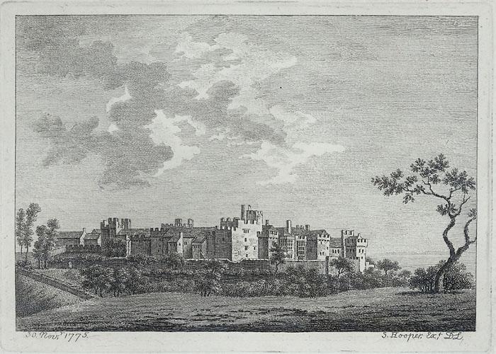 St. Donat's or, St. Denwit's castle, Glamorganshire