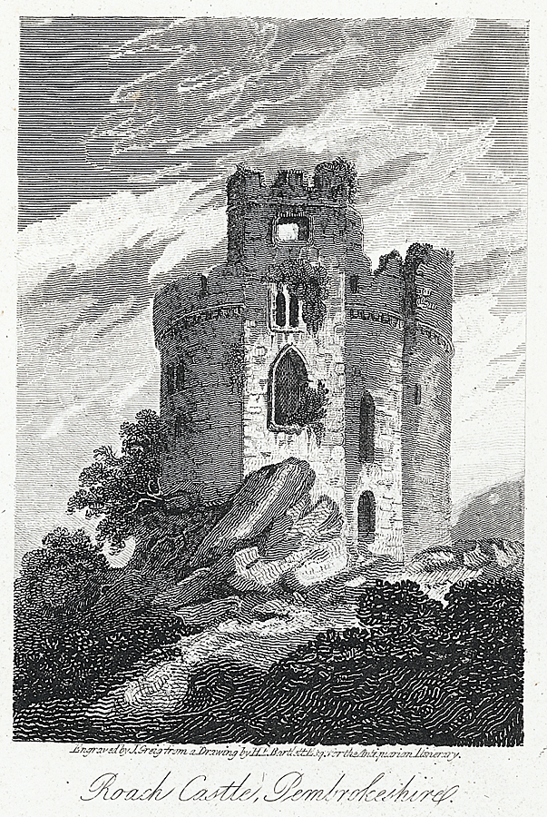 Roach Castle, Pembrokeshire