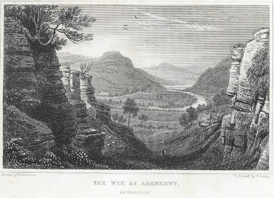 The Wye at Aberedwy, Radnorshire