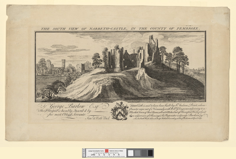 Narberth Castle, Pembrokeshire