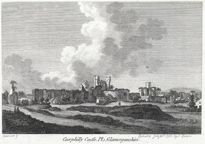 Caerphilly castle, Pl.1. Glamorganshire