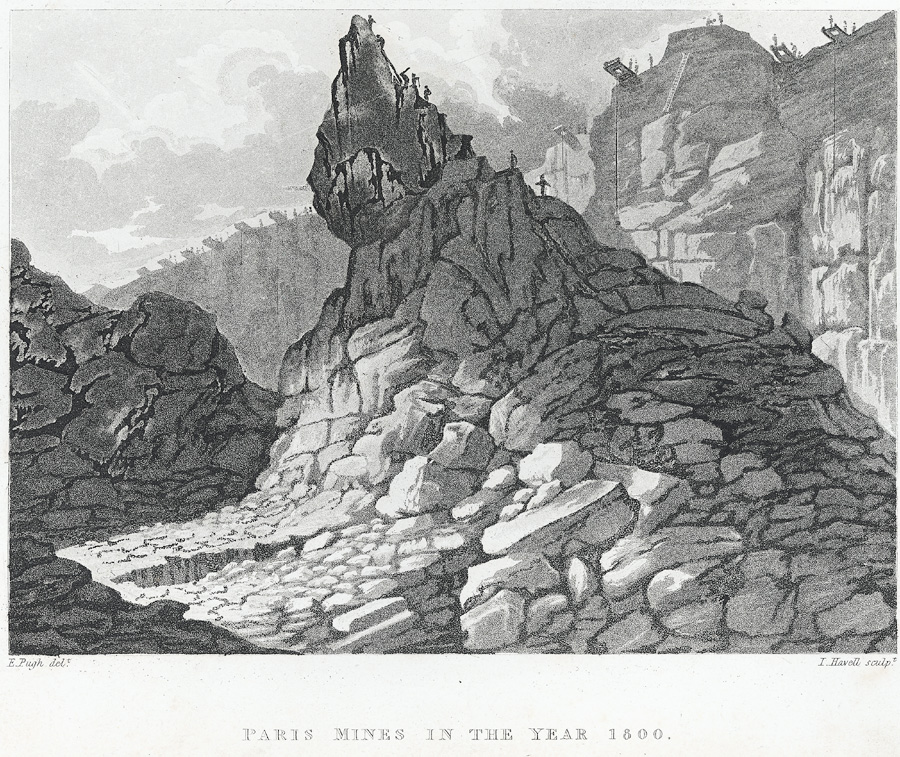 Paris Mines in the year 1800