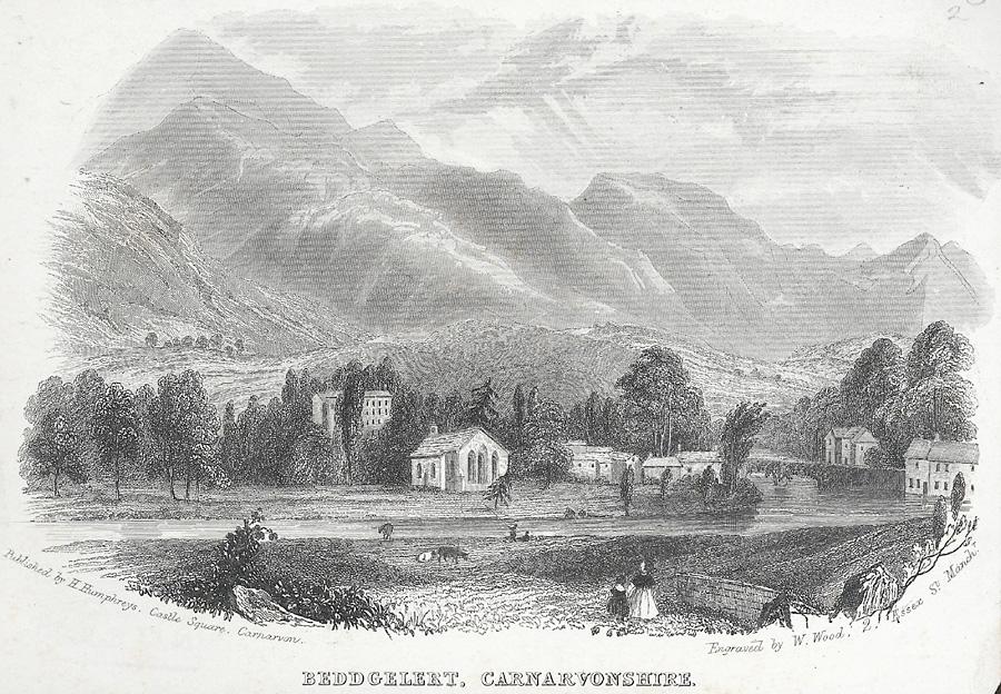 Beddgelert, Carnarvonshire