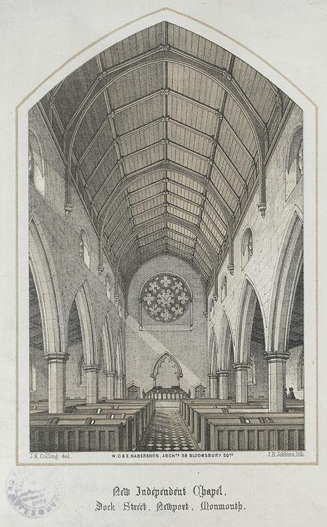 New Independent Chapel, Dock Street, Newport