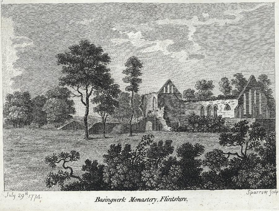 Basingwerk Monastery, Flintshire