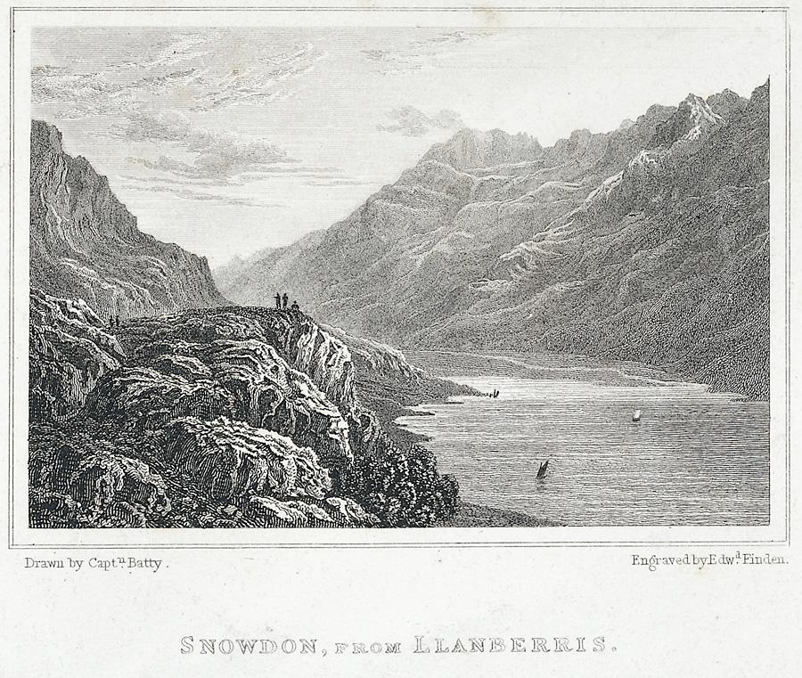 Snowdon, From Llanberris