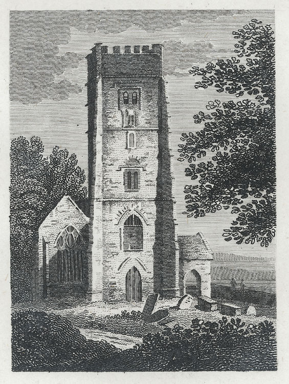 [St. Woollos Church, West Tower]