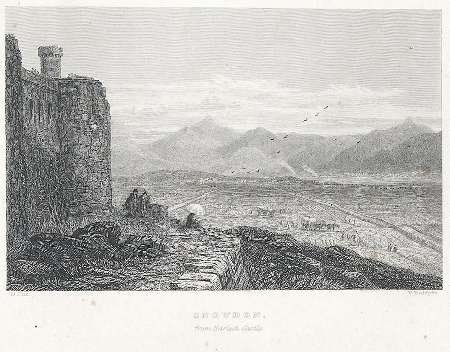 Snowdon, from Harlech Castle