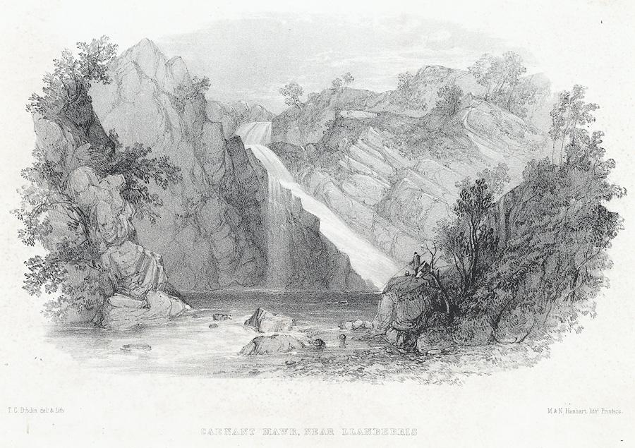 Caenant Mawr, near Llanberris