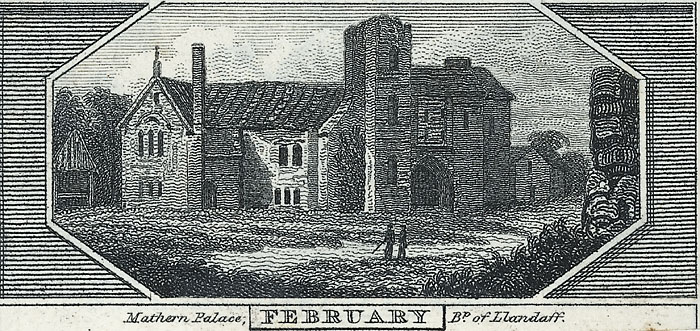 Mathern palace, Bp. of Llandaff