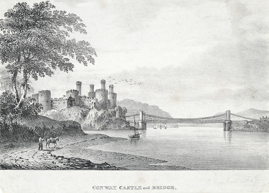 Conway Castle and Bridge