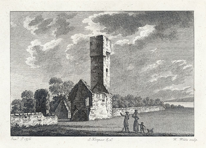 The watch tower near St. Donat's castle, Glamorganshire