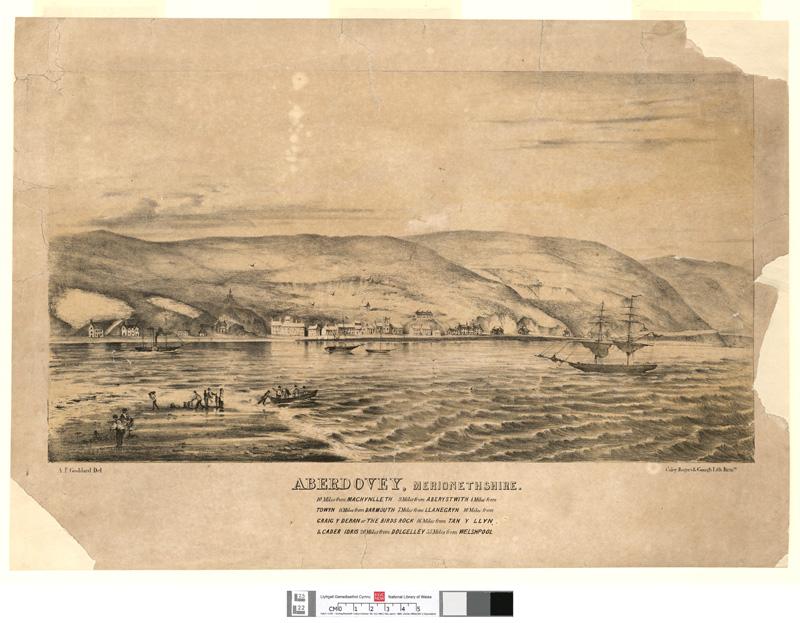 Aberdovey, Merionethshire