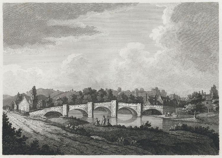 [Bridge and Castle of Usk]