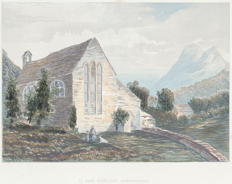 St. Mary, Beddgelert, Carnarvonshire