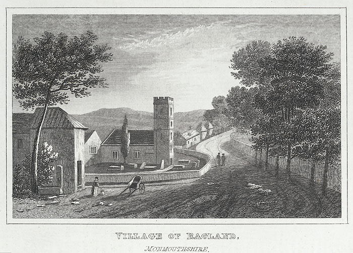 Village of Ragland, Monmouthshire