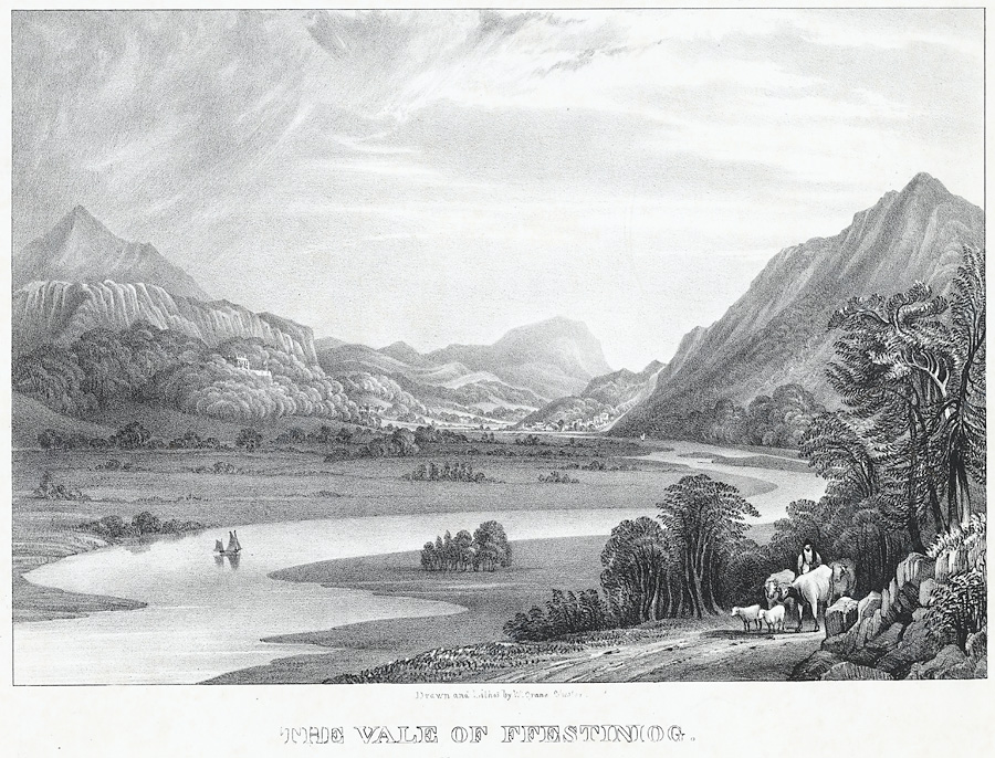 The Vale of Ffestiniog
