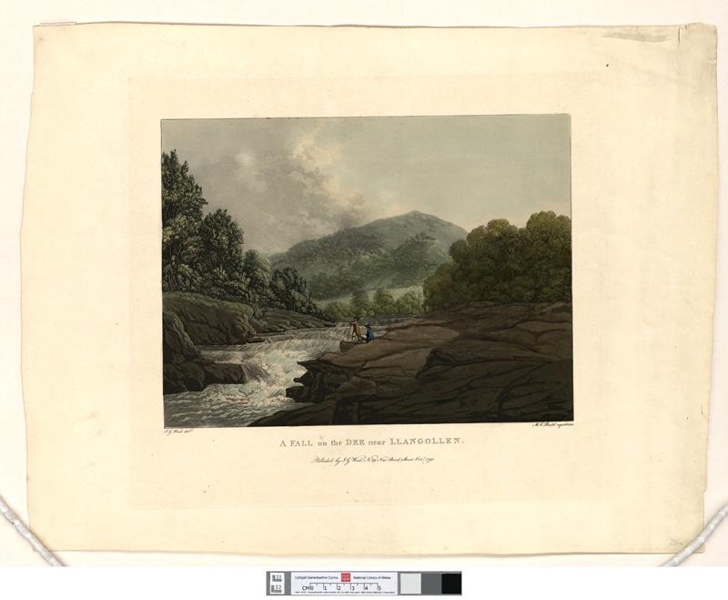 A Fall on the Dee, near Llangollen