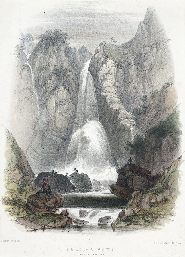 Rhaidr Fawr, Water Fall Near Aber