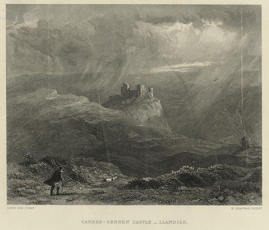 Carreg-Cennen Castle, Llandeilo