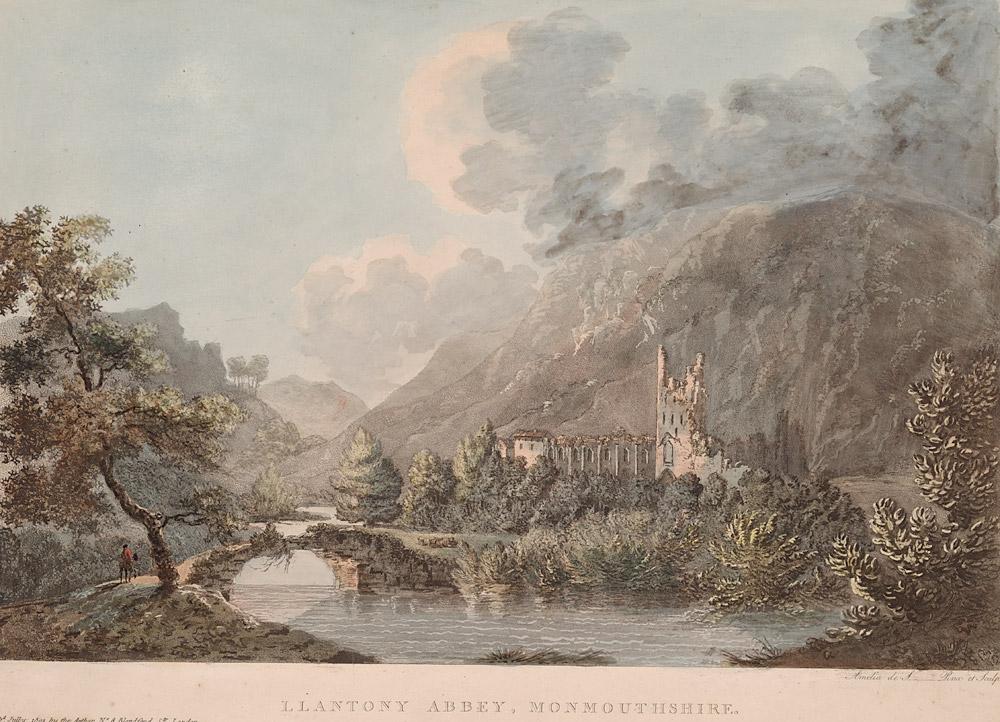 Llantony Abbey, Monmouthshire