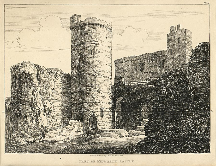 Part Of Kidwelly Castle