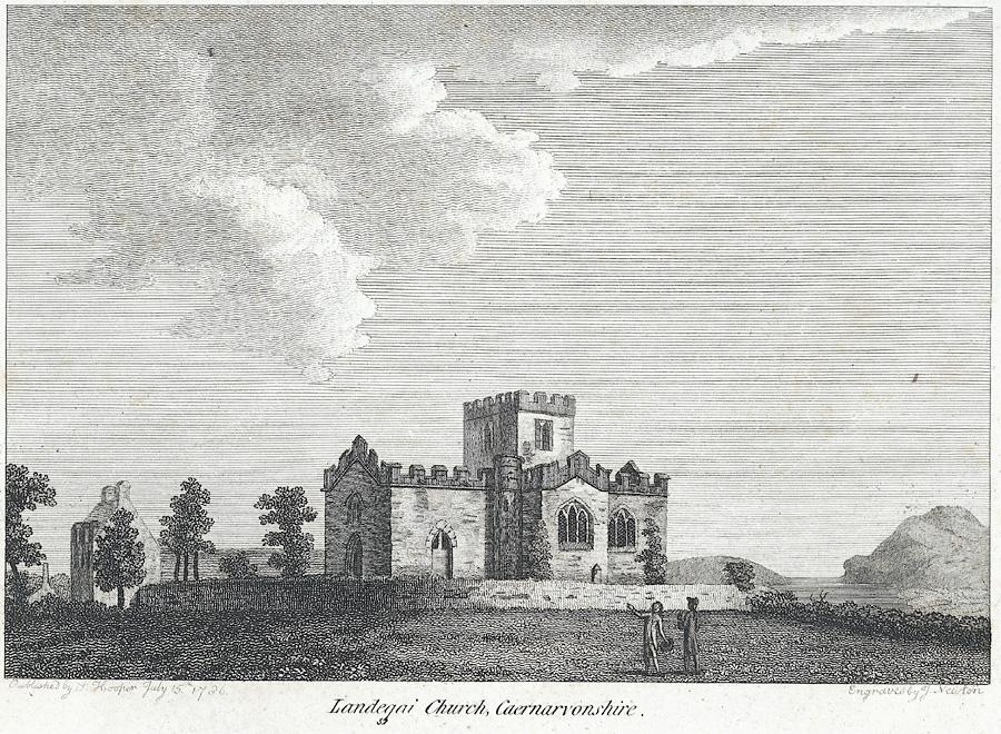 Llandegai Church, Caernarvonshire