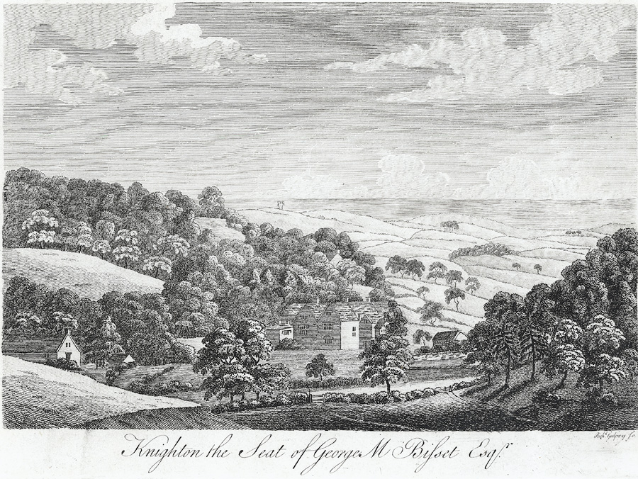 Knighton, the seat of George M. Bisset Esqr