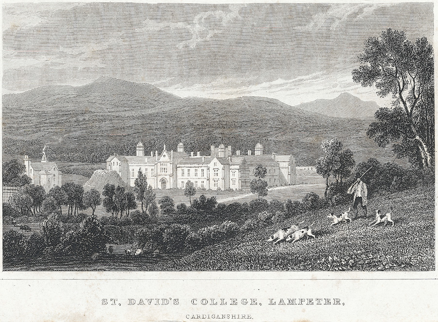 St. David's College, Lampeter, Cardiganshire