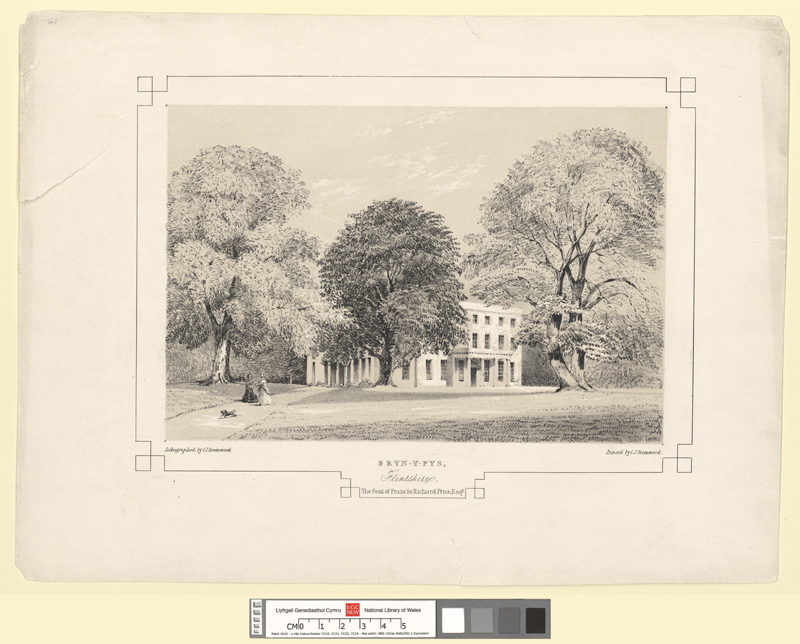 Bryn-Y-Pys, Flintshire. The Seat of Francis Richard Price, Esqr