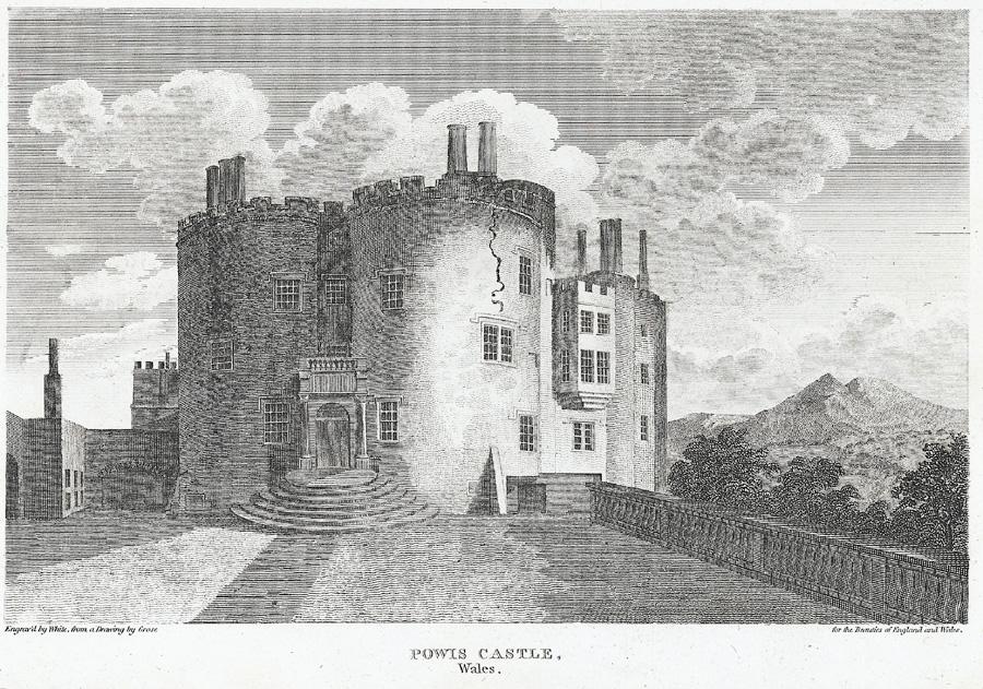 Powis Castle, Wales