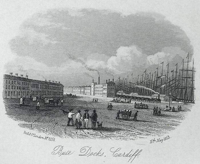 Bute docks, Cardiff