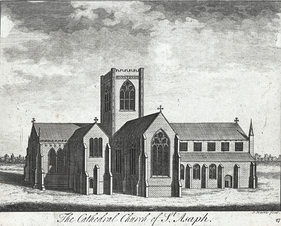 The cathedral church of St. Asaph