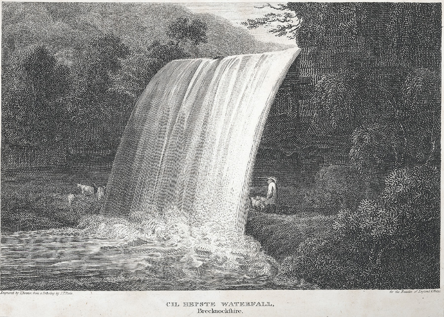 Cil Hepste Waterfall