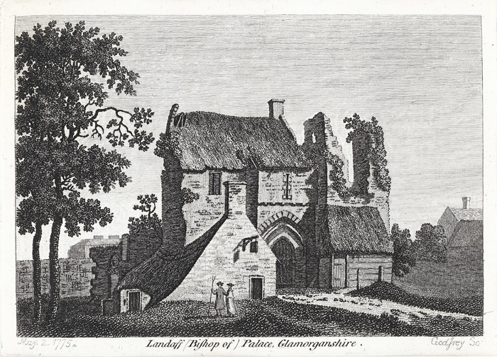 Landaff (Bishop of) palace, Glamorganshire