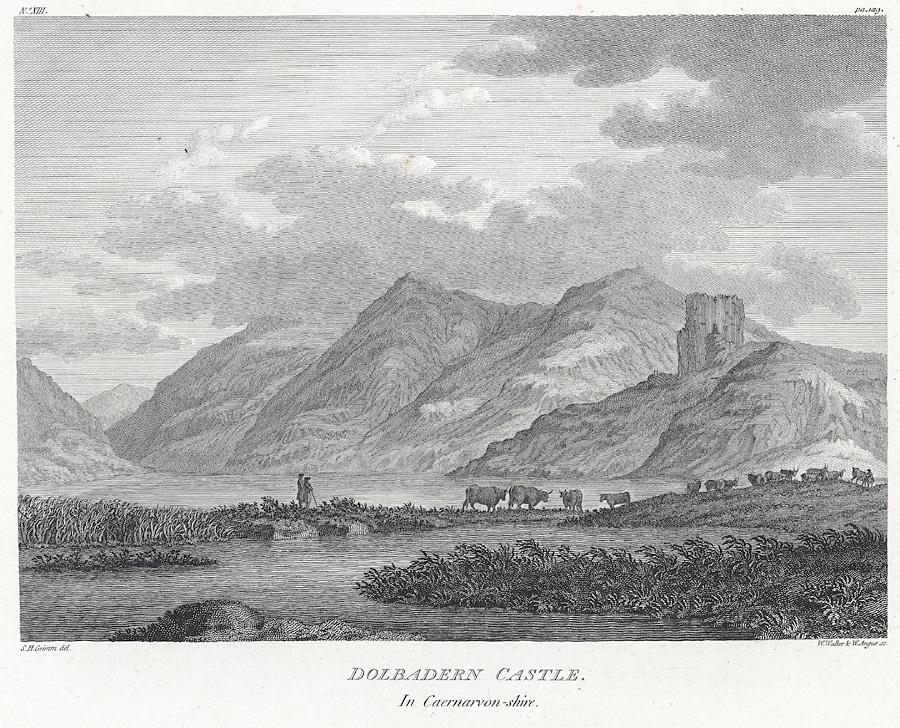 Dolbadern [i.e Dolbadarn] Castle in Caernarvon-shire